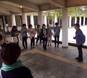 芹沢ディレクターによるガイドツアー開催!
